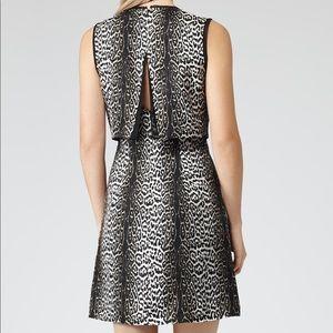 Reiss | Stella Leopard Print Silk Dress
